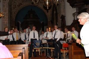 Kristianstads stadsmusikkår kyrkan